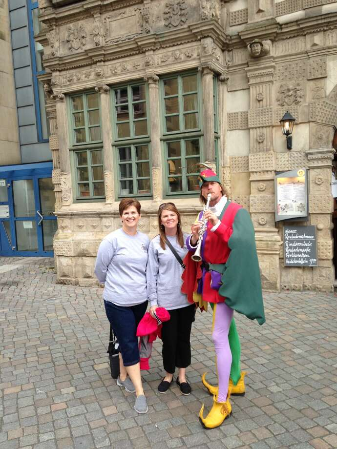 Kindergarten teacher Christy Pulley and second-grade teacher Judy Vesper of Scharbauer Elementary School drove 841 miles along Germany's Fairy Tale Road this summer.