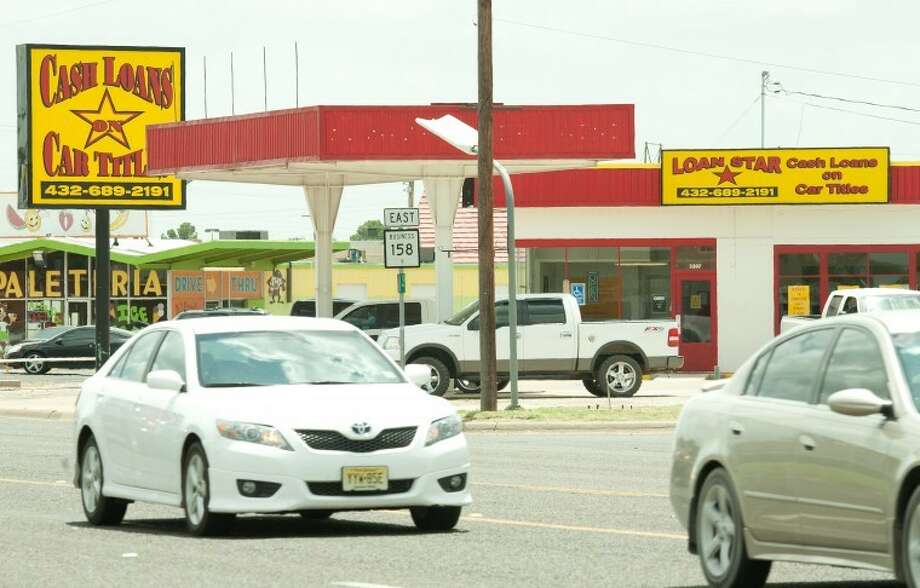 A city ordinance could impact payday loan businesses. Photo: Reporter-Telegram File Photo