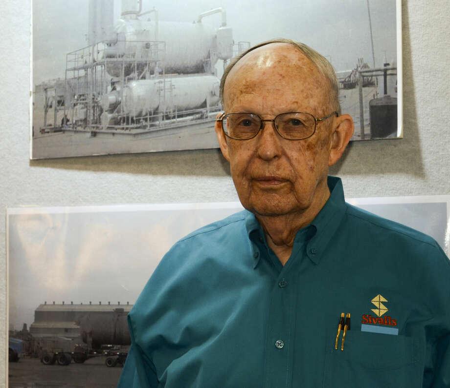 Dick Sivalls, Hearst Energy Awards Lifetime Achievement Award. Tim Fischer\Reporter-Telegram Photo: Tim Fischer