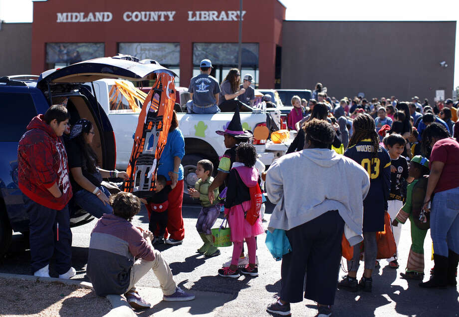 For those needing convincing of the impact the Centennial branch of the Midland County Public Library has had on the community, Director of Libraries John Trischitti III offers this. Photo: James Durbin