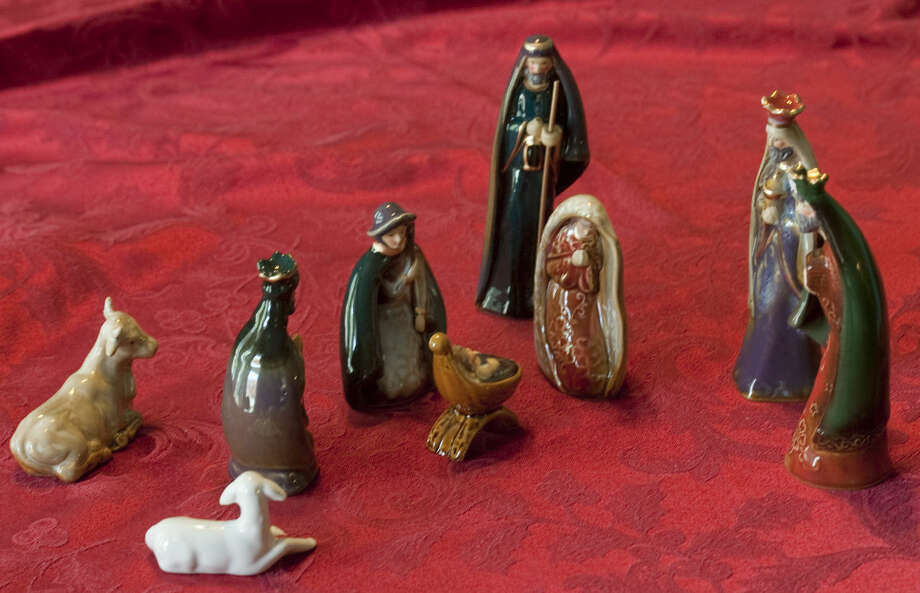 Some of the Nativities that can be seen at the No Room at the Inn Nativity display. Tim Fischer\Reporter-Telegram Photo: Tim Fischer