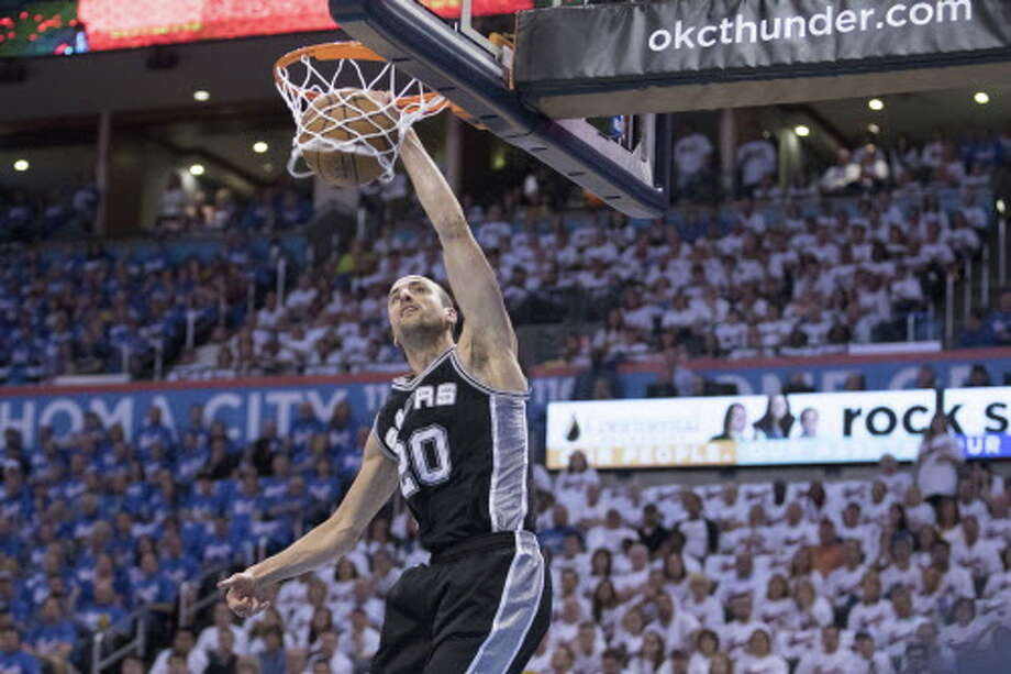 Spurs Thunder Game 3 Photo: Getty Images