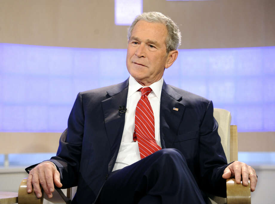 "This photo provided by NBC Universal, Inc., shows former U.S. President George W. Bush appears on the ""Today"" show to talk about his new book ""Decision Points"" Photo: Peter Kramer"