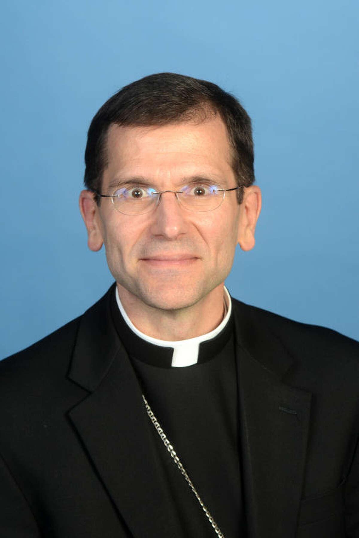 Bishop of the Catholic Diocese of San Angelo, Michael Sis. James Durbin/Reporter-Telegram