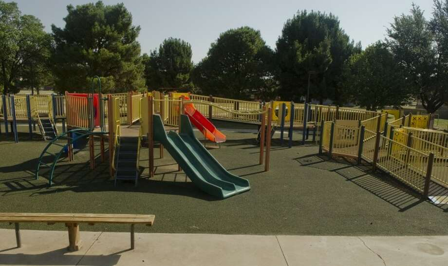 Opportunity Park, owned by MARC and built to honor a handicapped child who passed away in the 1980's, needs nearly $30,000 for yearly upkeep do to increased vandalism. Photo by Tim Fischer/Midland Reporter-Telegram Photo: Tim Fischer