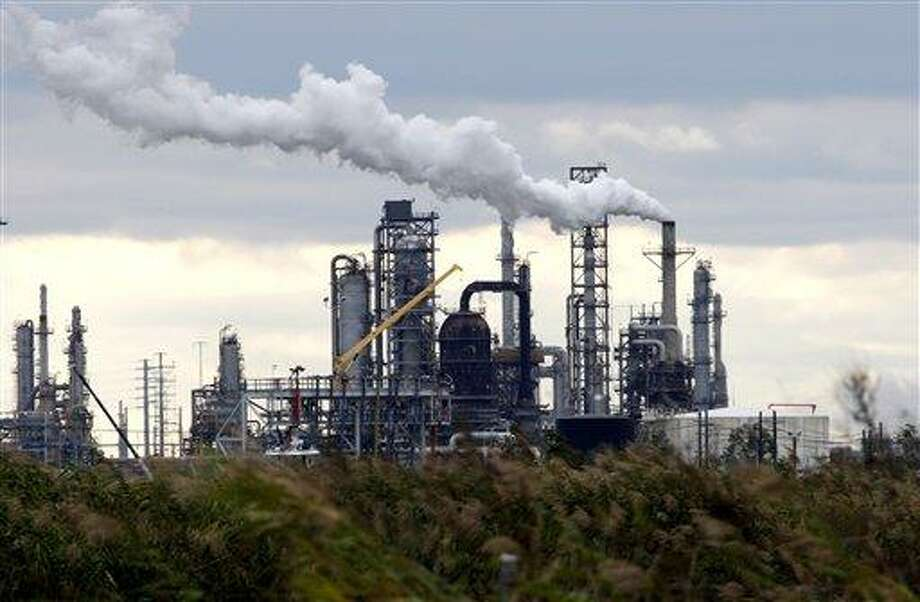 The Total Port Arthur refinery is shown Wednesday in Port Arthur, Texas. Photo: David J. Phillip / AP