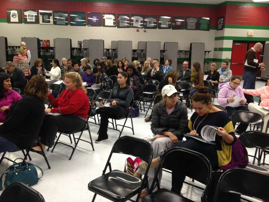 Dozens of parents attended the townhall meeting at Greathouse Elementary School on Tuesday night to learn more about MISD's proposed boundary changes.
