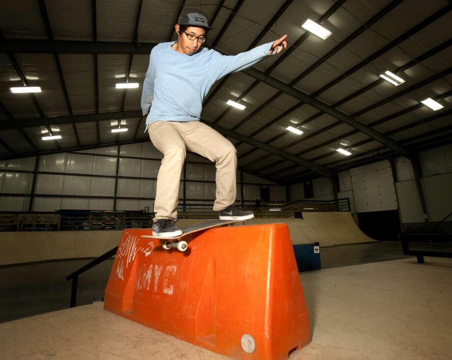Rock The Desert skatepark on Tuesday. James Durbin/Reporter-Telegram Photo: James Durbin