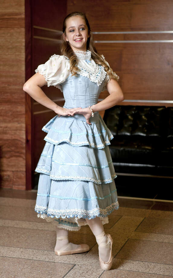 Photoshoot to showcase the cast, costumes, and costume designer of Nutcracker. Photographed Friday, Dec. 12, 2014 in the lobby of Midland Tower on Wall Street. James Durbin/Reporter-Telegram Photo: James Durbin