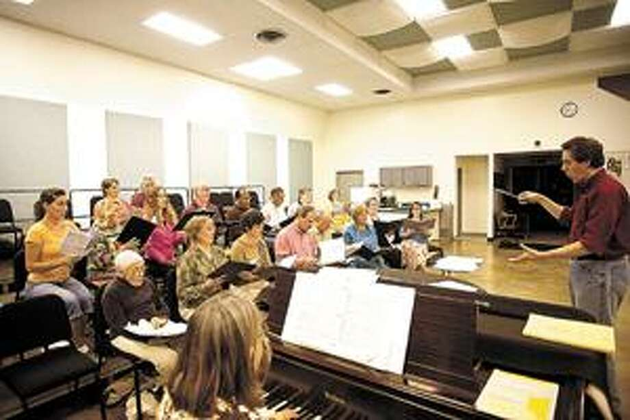 The Midland Odessa Symphony and Chorale rehearses. Photo: MRT FILE PHOTO