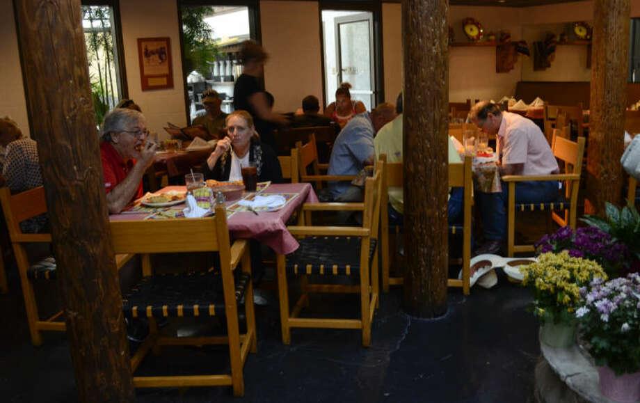 La Bodega restaurant is open and serving customers Monday. Tim Fischer\Reporter-Telegram Photo: Tim Fischer