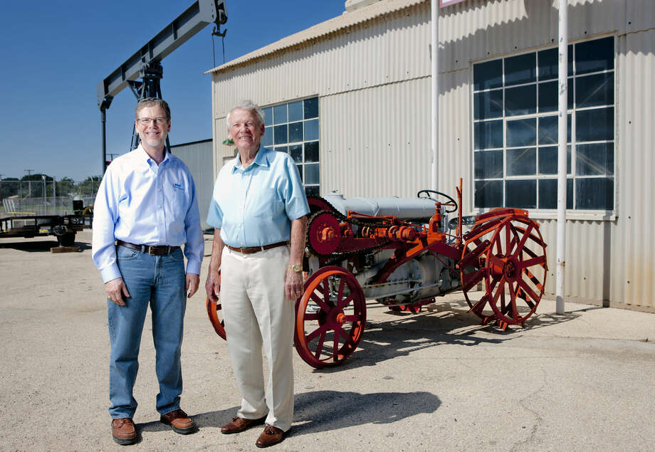 Don Gregory and his father Woody, are both past presidents of the Permian Basin International Oil Show. Photographed Sept. 30, 2014 for MRT special publications outside Ector County Coliseum in Odessa. James Durbin/Reporter-Telegram Photo: James Durbin