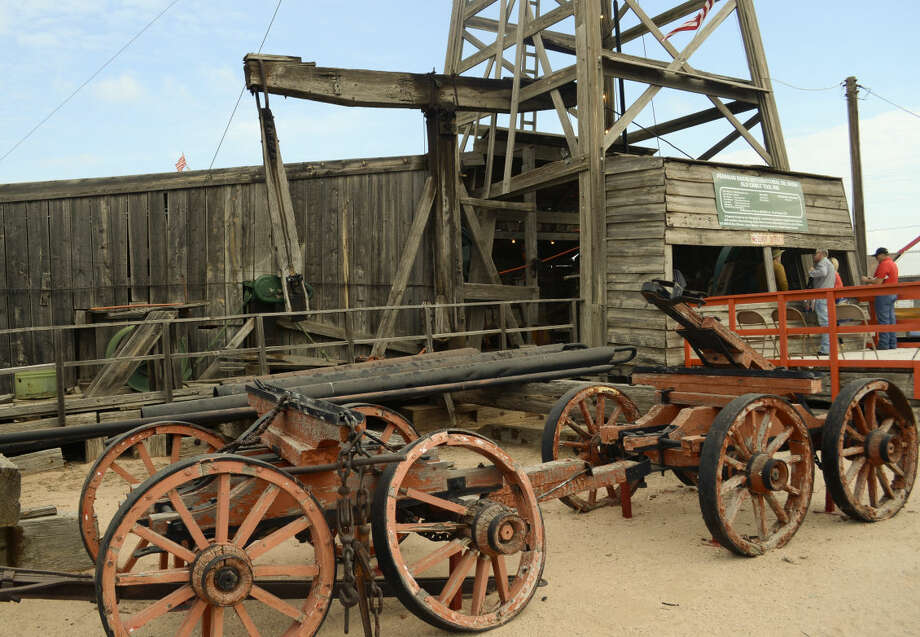 Old cable tool rig at the PBIOS. Tim Fischer\Reporter-Telegram Photo: Tim Fischer