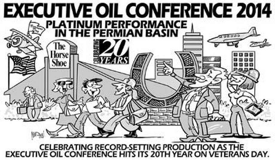 Norman Johnson has done it again! He's captured the spirit of this year's Executive Oil Conference theme as only he can. Register for the conference by going to executiveoilconference.com.