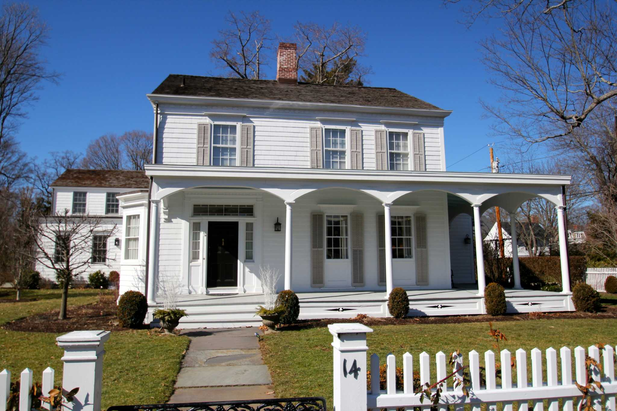 On the market classic southport home has vintage for Modern house upgrades