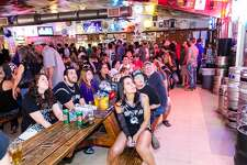 Spurs fans got wild at Hills & Dales Ice House Friday night, May 6, 2016, during a crucial Game 3 watch Party.