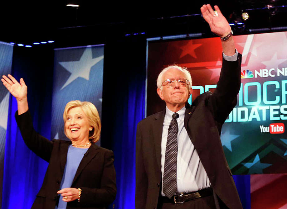 With Hillary Clinton said to have pretty much locked up the Democratic nomination, some Bernie Sanders' voters are pledging not to vote. And some Donald Trump supporters were saying the same thing if their man was somehow denied the GOP nomination — an unlikely outcome. Photo: Associated Press /Associated Press / Westport News