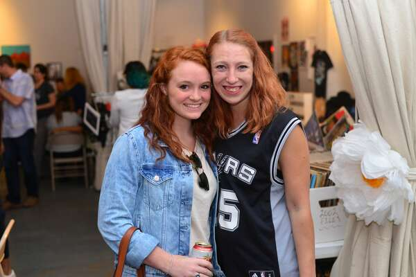 Not every eye in San Antonio was on the Spurs Friday night, some had more artful things in mind. Here is a look at First Friday at Brick, May 6, 2016.