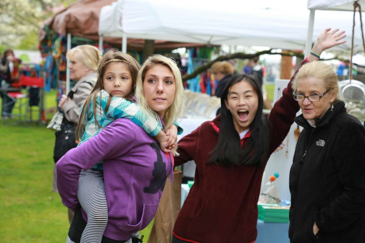 Were you SEEN at the annual Dogwood Festival at Greenfield Hill Congregational Church on May 7, 2016?
