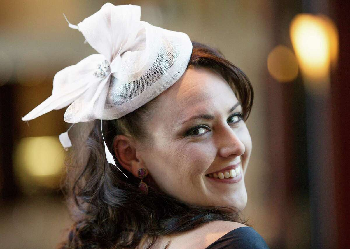 Kelly Bergendahl poses for a photo at the Nora's Home at the Kentucky Derby Gala at the Hotel Royal Sonesta Friday, May 6, 2016, in Houston.