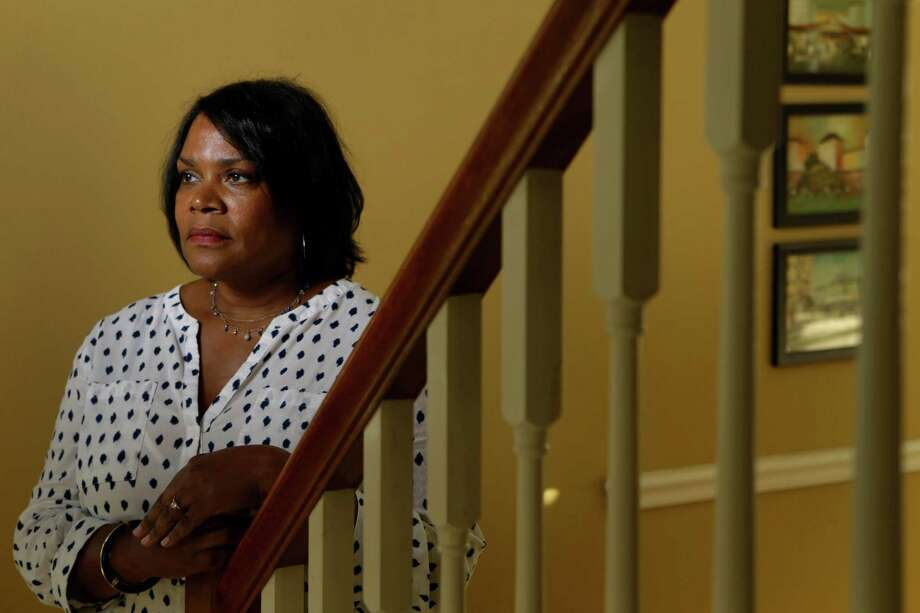 Shelia Muldrow is shown at her home Friday, May 6, 2016, in Houston. Her son, Warren, who was diagnosed as bipolar, left home when he was 14-years-old. He has been in and out of jails and mental wards. Photo: Melissa Phillip, Houston Chronicle / © 2016 Houston Chronicle