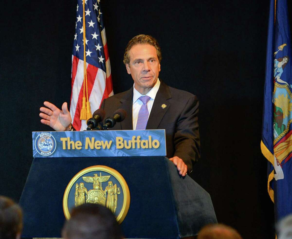Governor Andrew M. Cuomo announces new plan for dramatic transformation of Buffalo's waterfront on Sept. 4, 2013, in Buffalo, N.Y. (Office of the Governor)