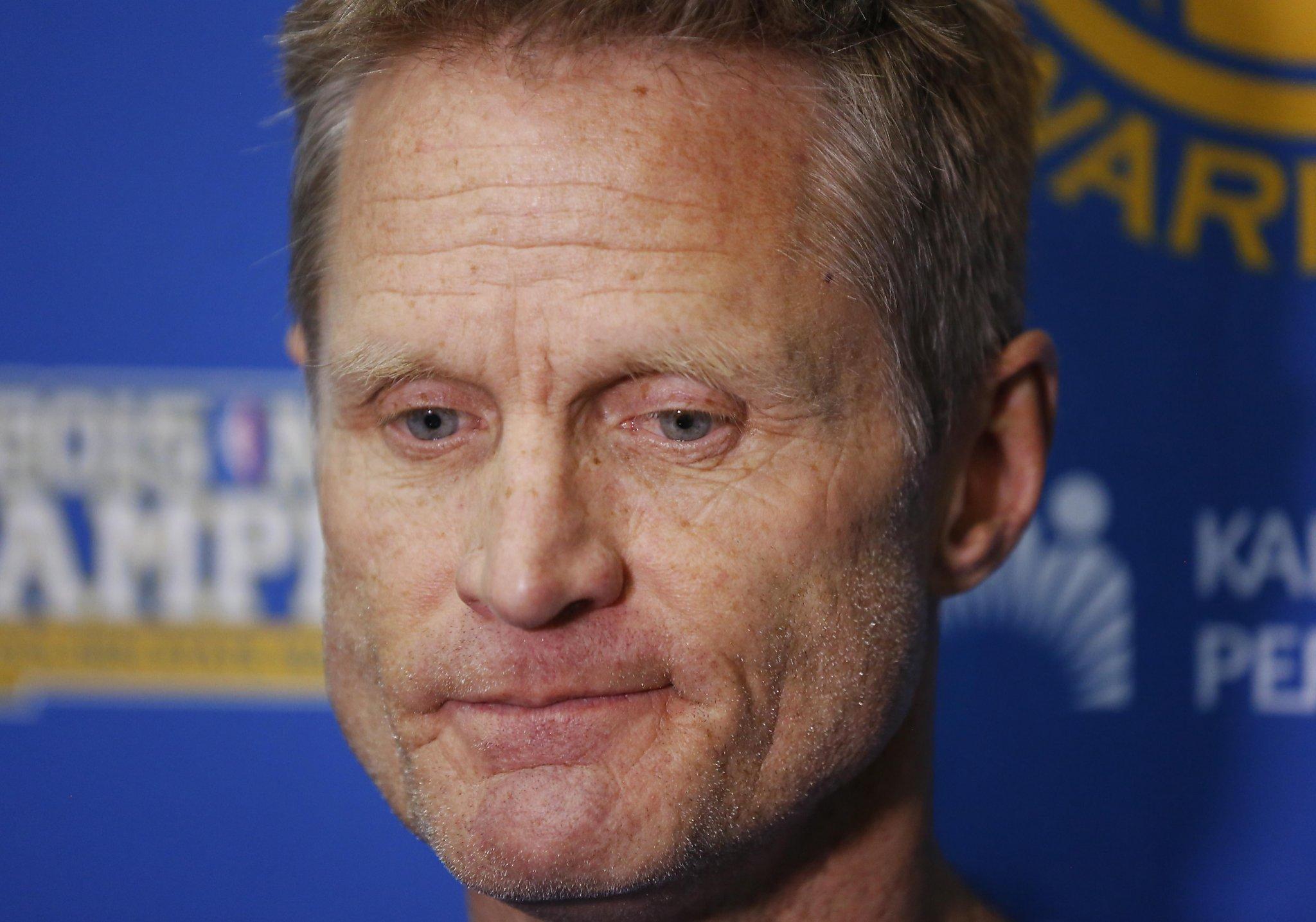 Warriors' Steve Kerr says NBA coaching carousel 'makes me a little nervous'