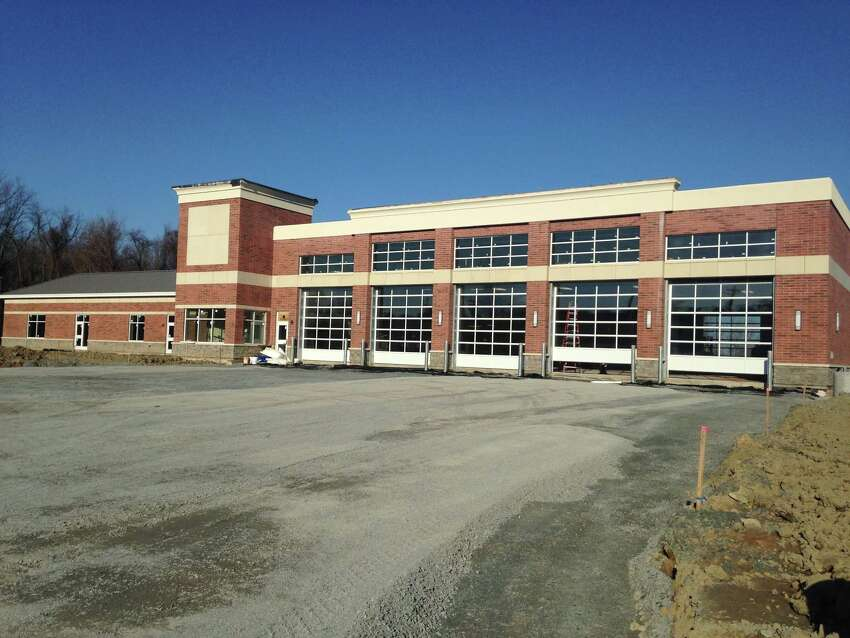 The new $6.9 million Defreestville Fire Station is nearing completion and 50 firefighters are preparing to move into their new quarters. (Photo provided)