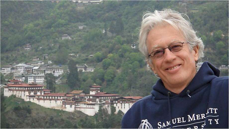 Steve Carter, a prominent tantra instructor, was killed while hiking in Marin County on Oct. 5, 2015. This photo was taken in Bhutan during a pilgrimage that he and his wife, Lokita Carter, took to the roots of the teachings of tantric Buddhism. Photo: Courtesy / Lokita Carter