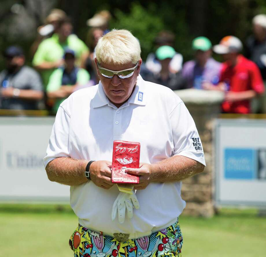 John Daly Plans To Switch Putters After Second Round Houston Chronicle