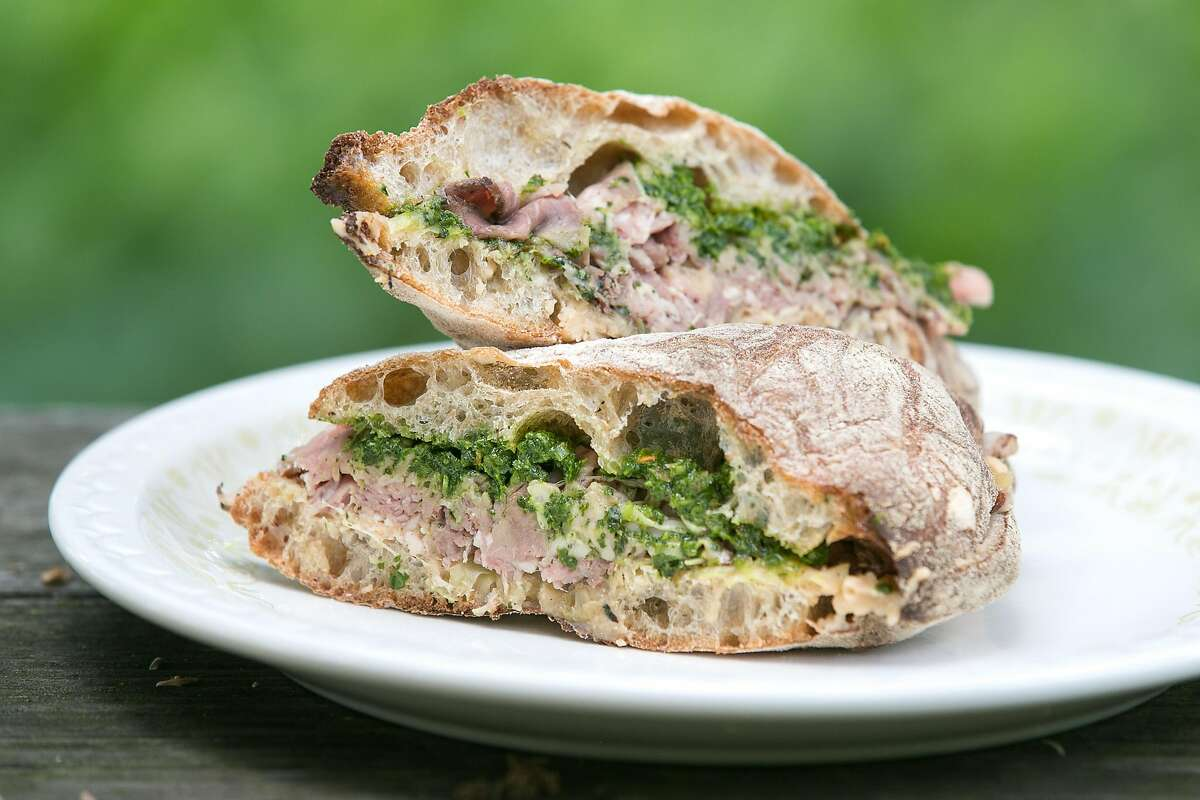 Roast Beef Sandwich from Contimo Provisions in Napa. .