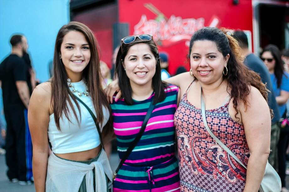 San Antonians love tacos, period. When you gather some of the best taco serving food trucks in the city and mix them all into a huge taco competition, then loosen those belts a notch or two. Check out the sights from the annual Twisted Taco Truck Throwdown on Saturday, May 7, 2016, at the VFW Post 67. Photo: By Jason Gaines, For MySA.com