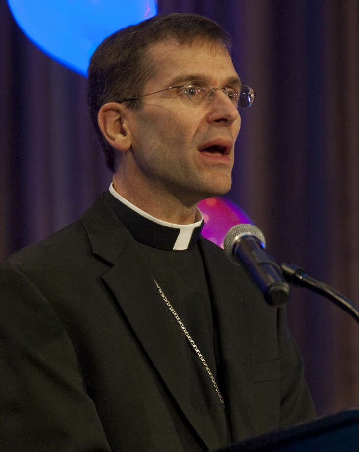 "Bishop Michael Sis of San Angelo is to be among speakers at ""Interfaith Gathering in Support of Immigrants"" Saturday at  Our Lady of Guadalupe Parish and Shrine. Photo: File Photo"