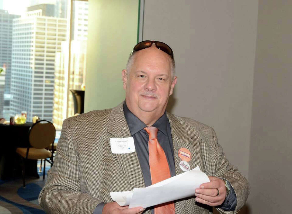 Carl Whitmarsh, a longtime leader in Harris County Democratic politics. Photo provided by Lane Lewis.