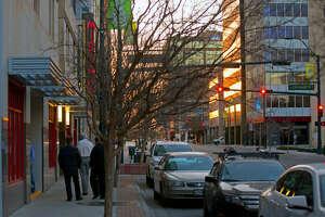 Downtown Midland photographed Feb. 20, 2014. James Durbin/Reporter-Telegram