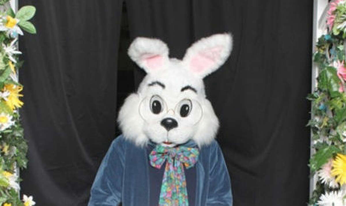 The bunny will be available for socially distanced visits until April 3.