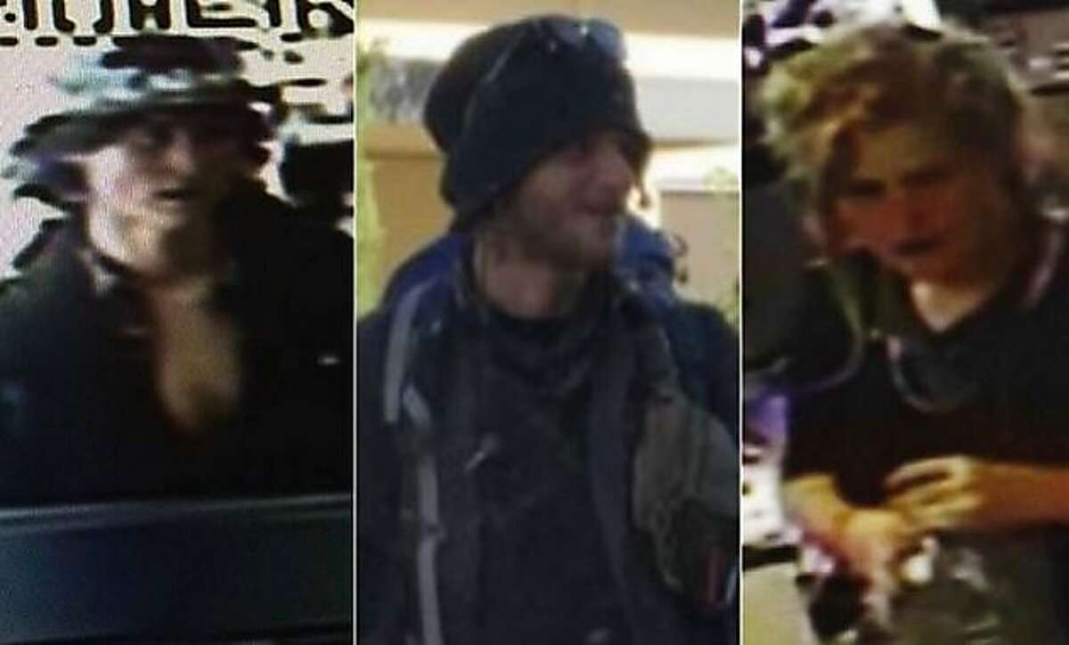 Sean Michael Angold, Morrison Haze Lampley and Lila Scott Allgood were arrested in the killings of a therapist in Marin County and a hiker in San Francisco.