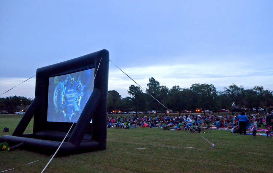 "Movie in the Park, ""Frozen"", Friday at Grafa Park. James Durbin/Reporter-Telegram"