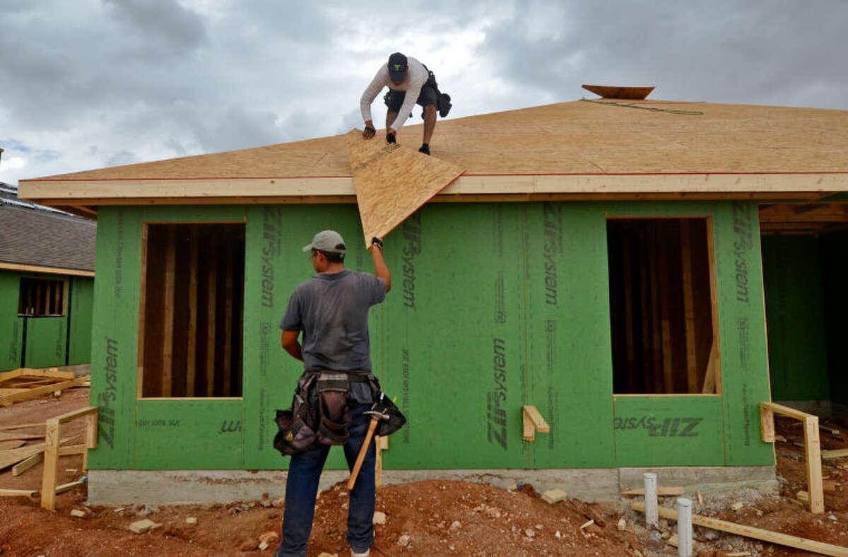 Construction of more new homes like this one near the sports complex might be possible after Planning and Zoning decisions make this week. (Reporter-Telegram file photo)