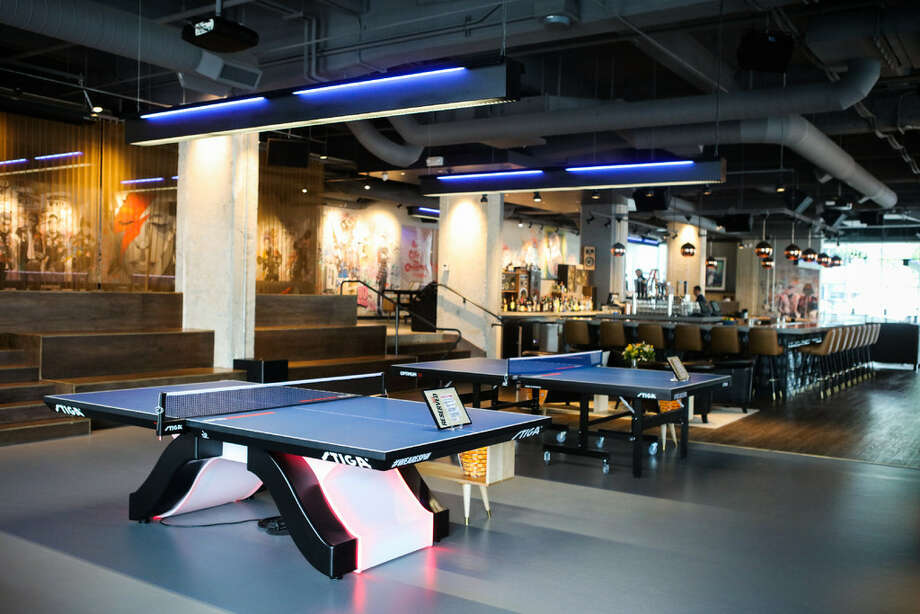 Welcome to SPiN, the new ping pong social club from Susan Sarandon, which softly opens in SoMa this week. Photo: Gabrielle Lurie/Special To The Chronicle
