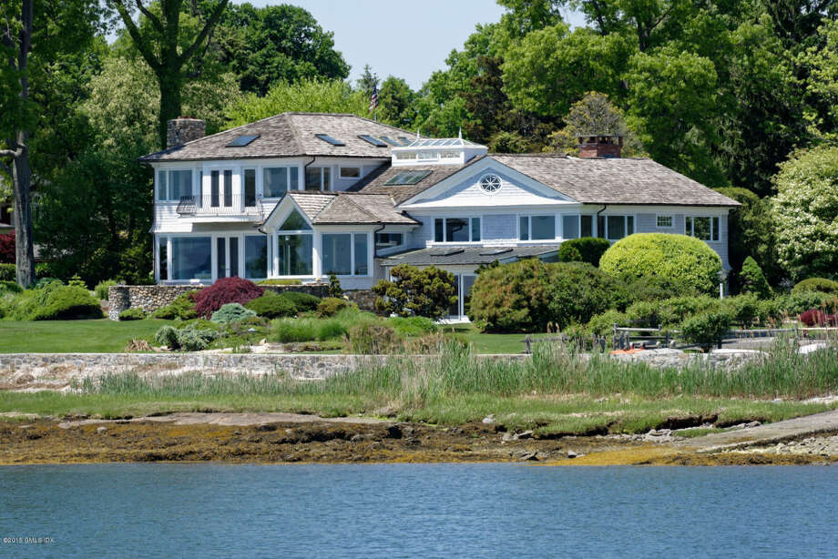 The buy of the week is a home at 8 Seagate Road is a waterfront property in Riverside with great views of the Long Island Sound and is in the Harbor Point Association. Photo: Courtesy Ken Edwards