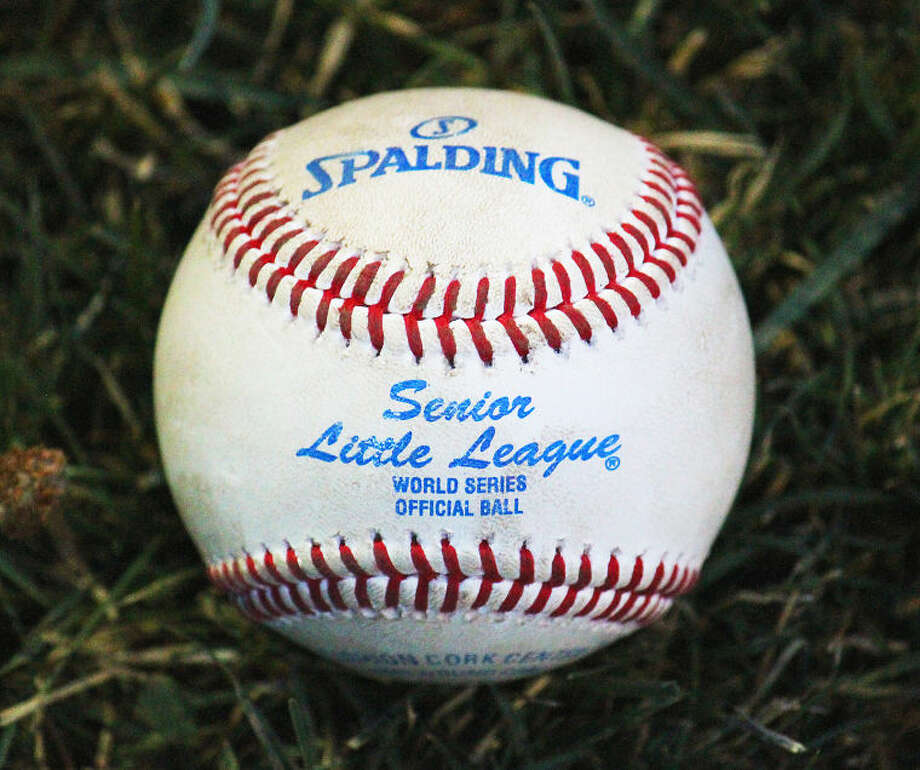 A picture of the one of a baseball used during the Little League Intermediate 50/70 Southwest Regional Championship at Grand Mesa Park in Grand Junction, Colo., this week. Buddy Brown/Special to the MRT