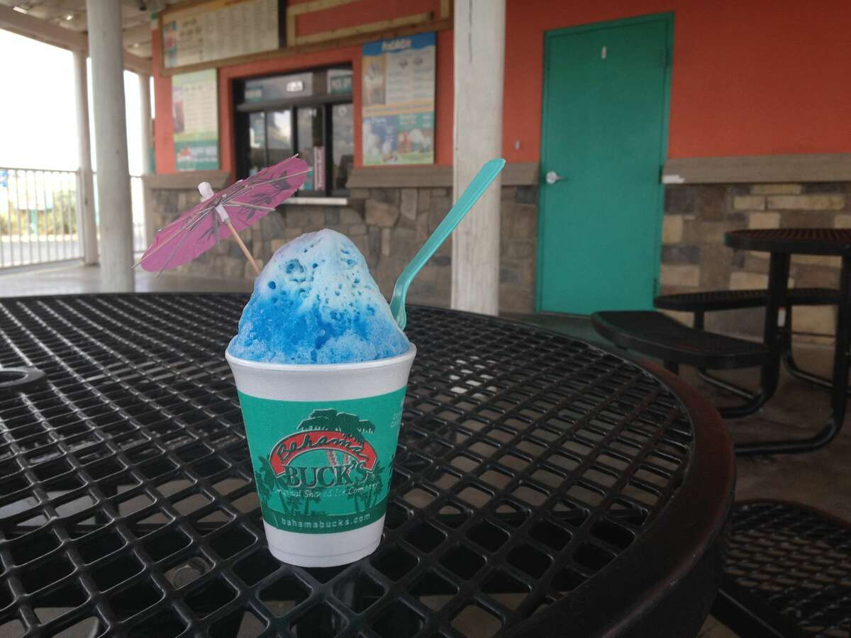 Despite Tuesday's chilly temperatures, Bahama Buck's is giving fans a chance to dream of sunny beaches with its annual Free Sno Day.