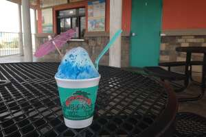 Bahama Bucks, 4521 W. Loop 250 North. Open daily. There are several small shaved-ice huts throughout Midland, but Bahama Bucks is hard to beat with its massive selections of flavors and menu options. Iced coffee, smoothies and specialty drinks add to Bucks' cool offerings, but their shaved ice, like the blue coconut with cream, goes down with smooth texture that could almost be mistaken for ice cream. Or just opt for the Bahama Rama Mama, a scoop of ice cream topped with flavored ice and topped off with a drizzle of their Tropic Creme.