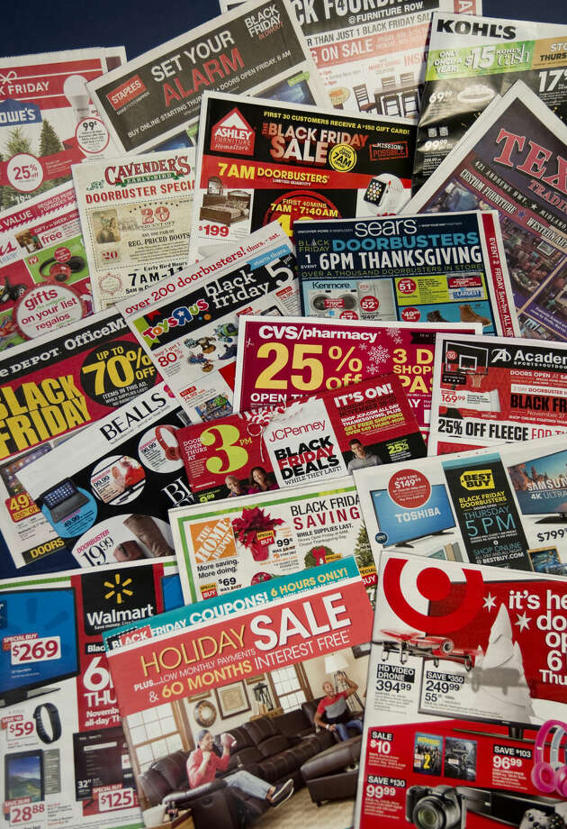 Black Friday ads Tuesday 11-24-2015 Tim Fischer\Reporter-Telegram Photo: Tim Fischer