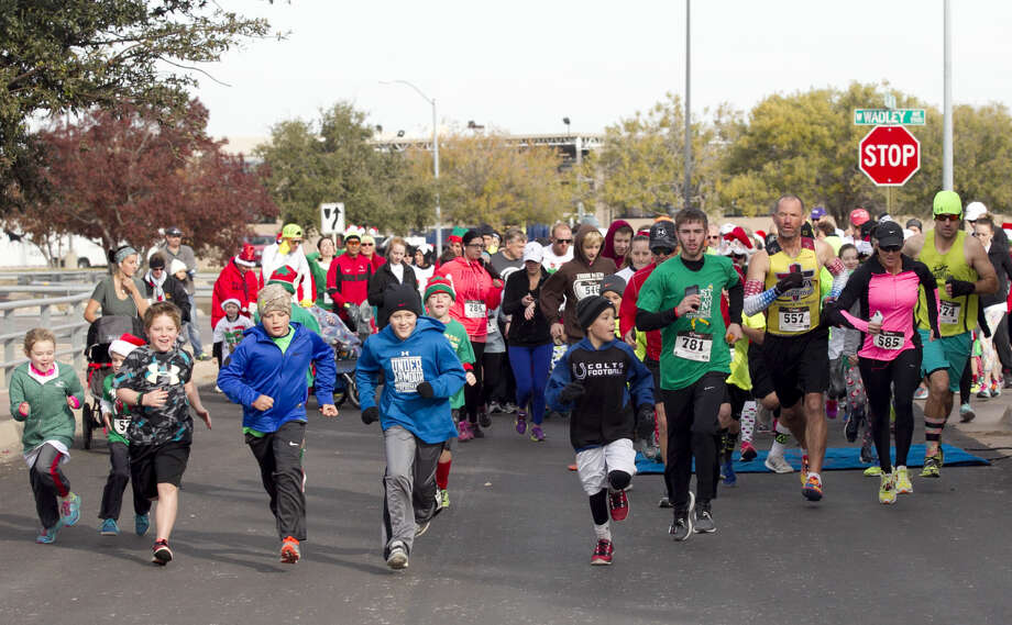 Dec. 2  Jingle Bell Run: A Night Time Christmas light Experience benefiting Junior Achievement of the Permian Basin. This year's run will go through Grasslands Estates lit by Christmas lights. 4:30 -7:30 p.m. at Heritage USA FCU, 5507 W. Wadley Ave. $10-$35.endurancecui.active.com. Photo: James Durbin
