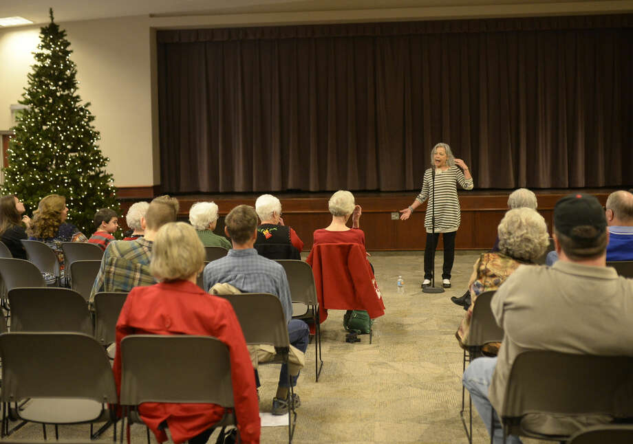FILE PHOTO:The Midland Storytelling Festival has been keeping a tradition alive for 28 years with guest artists and local storytellers. This year's event will kick off with cowboy storyteller and poet Waddie Mitchell tonight at the Haley Memorial Library. Photo: James Durbin