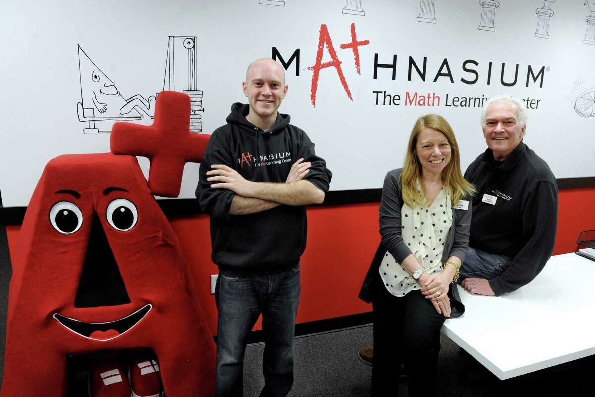 Mathnasium, at the Danbury Fair Mall, is owned and run by Debbie and Steve Heckman with son Jeffrey, 24.