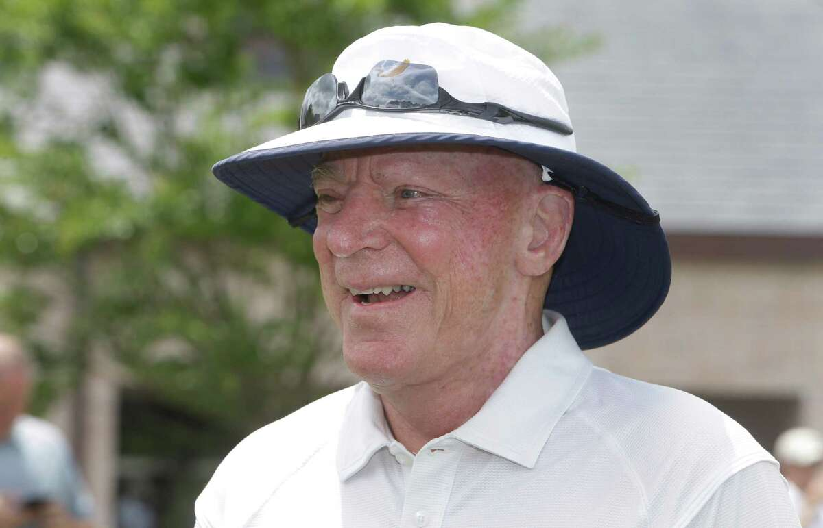 Texans owner Bob McNair is shown during the Texans charity golf tournament at River Oaks Country Club, 1600 River Oaks Blvd., Monday, May 9, 2016, in Houston.