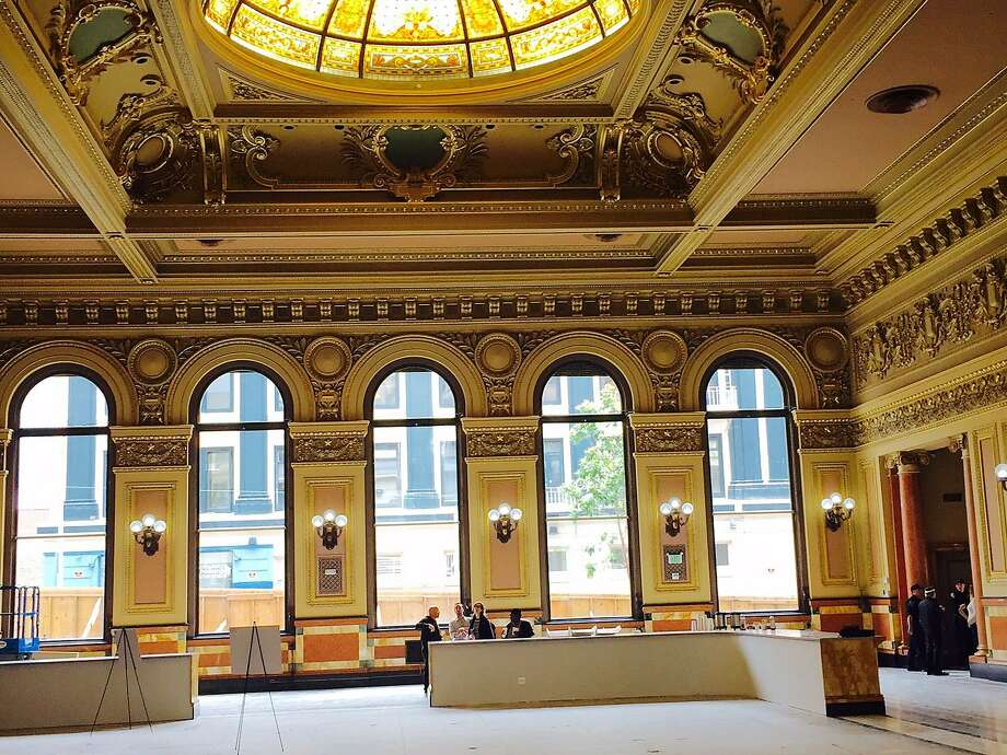 The Hibernia Bank has been given a $15 million facelift and is ready to return to its former glory in the Tenderloin. Photo: C.W. Nevius